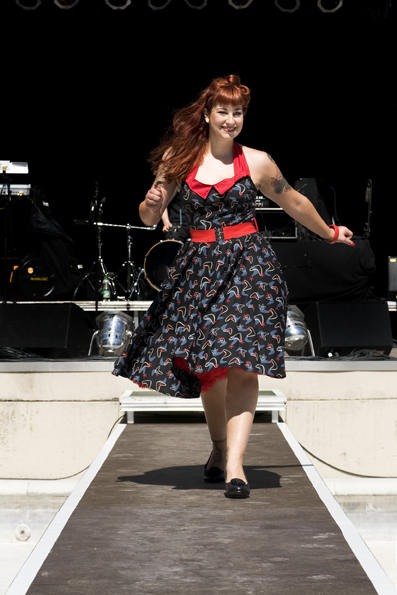 Atomic Swing Dress von Miss Fortune