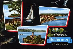 Postkarte Bodensee