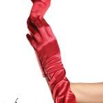 Handschuhe in rot oder schwarz
