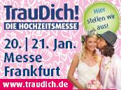 Hochzeitsmesse TrauDich! 2018 in Frankfurt