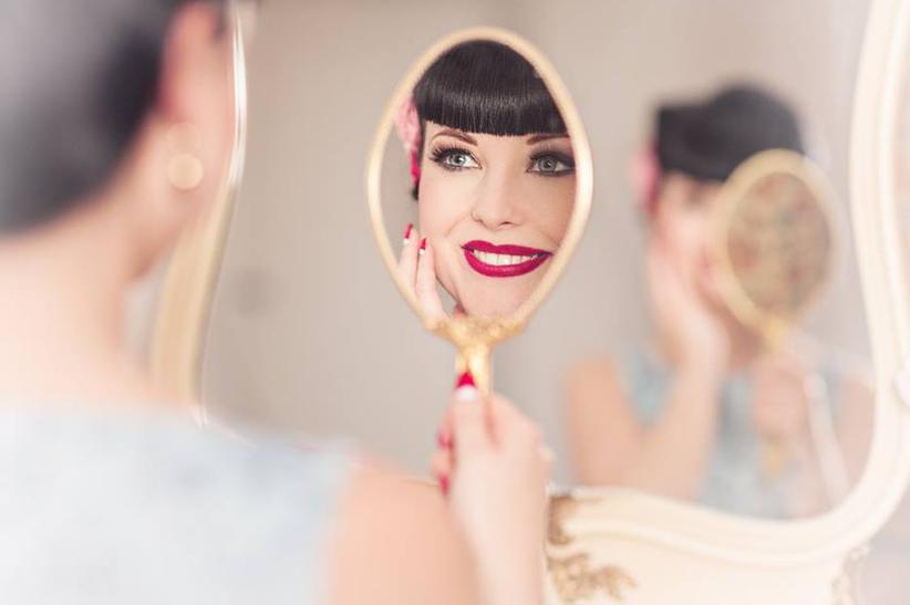 AUSGEBUCHT Hairstylingkurs Pinup Basic mit CJ Visagistic am 08. März 2020