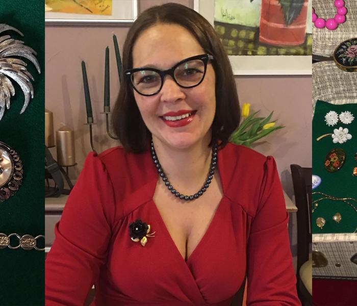 Vintage Schmuck und Accessoires am 20. Oktober 2018