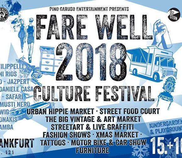 Fare Well 2018 Culture Festival am 15. und 16. Dezember 2018
