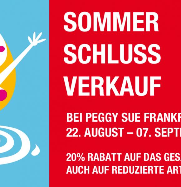 Sommerschlussverkauf vom 22.08. bis 07.09.2019